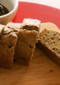 ホットケーキミックスで簡単!黒豆のケーキ