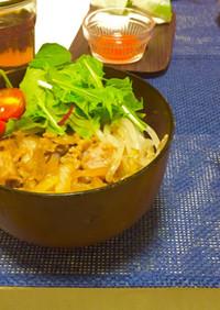 カフェ風 豚丼