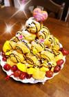 シューアイスタワーのバースデーケーキ