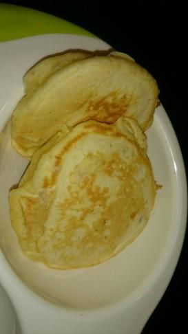 バナナカボチャのホットケーキ★離乳食後期