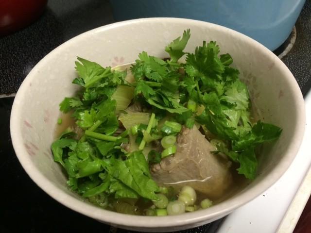 ハワイアンオックステールスープ