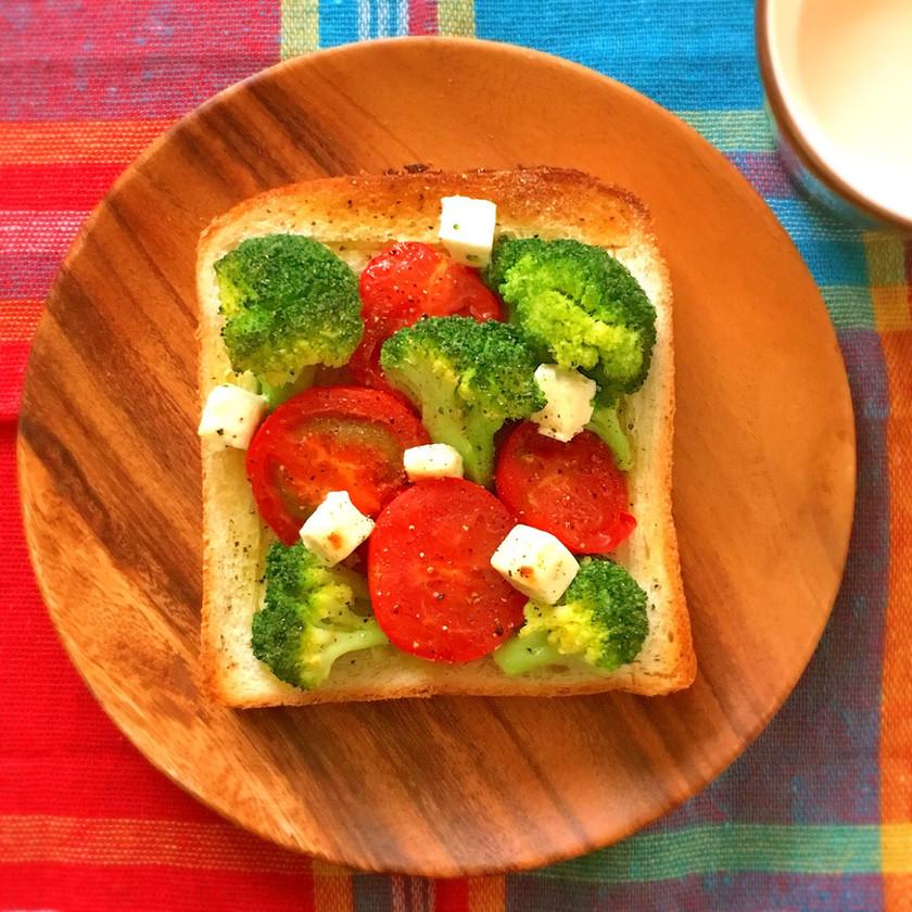 簡単イタリアン☆ぎゅうぎゅう焼きトースト