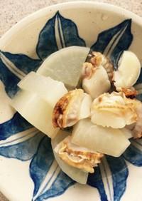 台湾風༄大根とベビーホタテの煮物