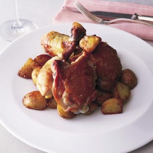鶏もも肉のソテー