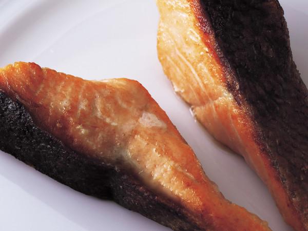鮭のムニエル