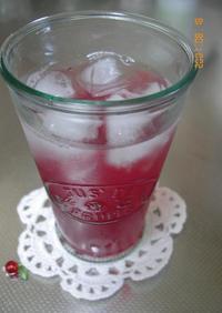 おねえちゃんの紫蘇ジュース