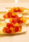 柿とトマトのチアサラダ