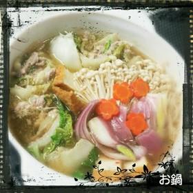 ミルフィーユ味噌鍋