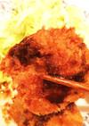 フライで余った小麦粉と卵を使って豆腐カツ
