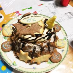 4歳Birthday♪恐竜ケーキ