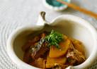 大根とサバ味噌煮缶で♪簡単煮物