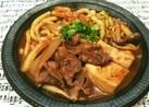 牛丼屋さん風♡デミ牛鍋(デミグラス牛皿)