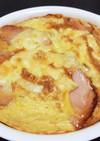 山芋とろろと卵のふわふわ焼き☆梅風味