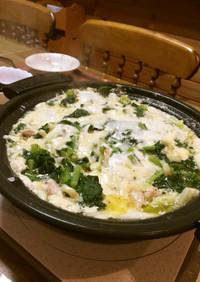 鶏と白菜のとろ~り豆乳鍋♪