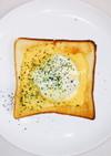 美味しい朝食♪エッグベネディクトトースト