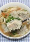 野菜高騰☆乾燥野菜のえびワンタンスープ