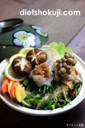 白菜と豚肉のミルフィーユ鍋(ローカーボ)