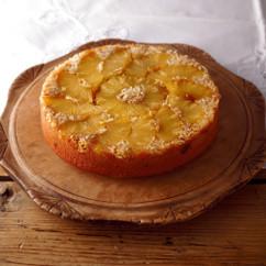 黒糖パインココナッツのアップサイドダウンケーキ
