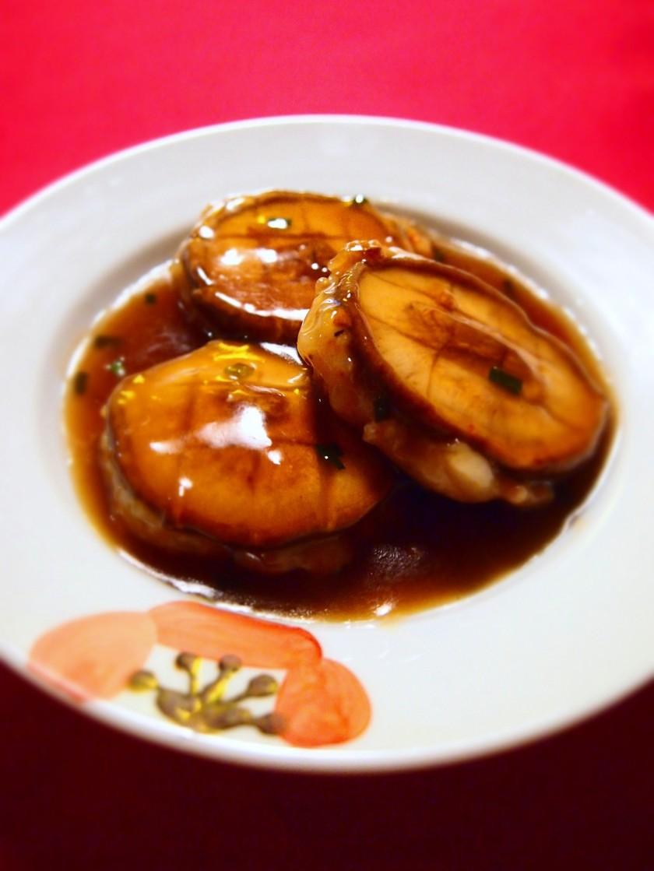 椎茸deアワビのオイスターソース煮