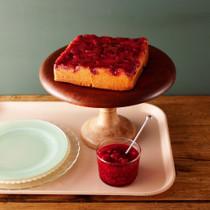 ベリーベリーアップサイドダウンケーキ
