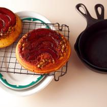 かぼちゃのアップサイドダウンケーキ