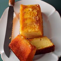 甘夏と白あんのアップサイドダウンケーキ