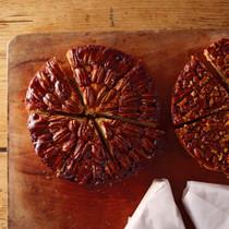 ピーカンナッツのアップサイドダウンケーキ