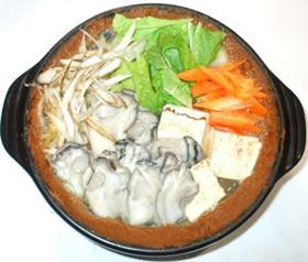 牡蠣鍋♪牡蠣の簡単味噌鍋