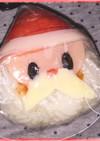 簡単。サンタのクリスマスおにぎり弁当♡