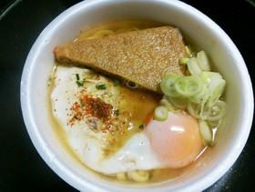 カップ麺アレンジ卵入❤どん兵衛編ランチ❗