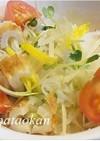 ヘルシー☆大根とエノキの柚子風味サラダ
