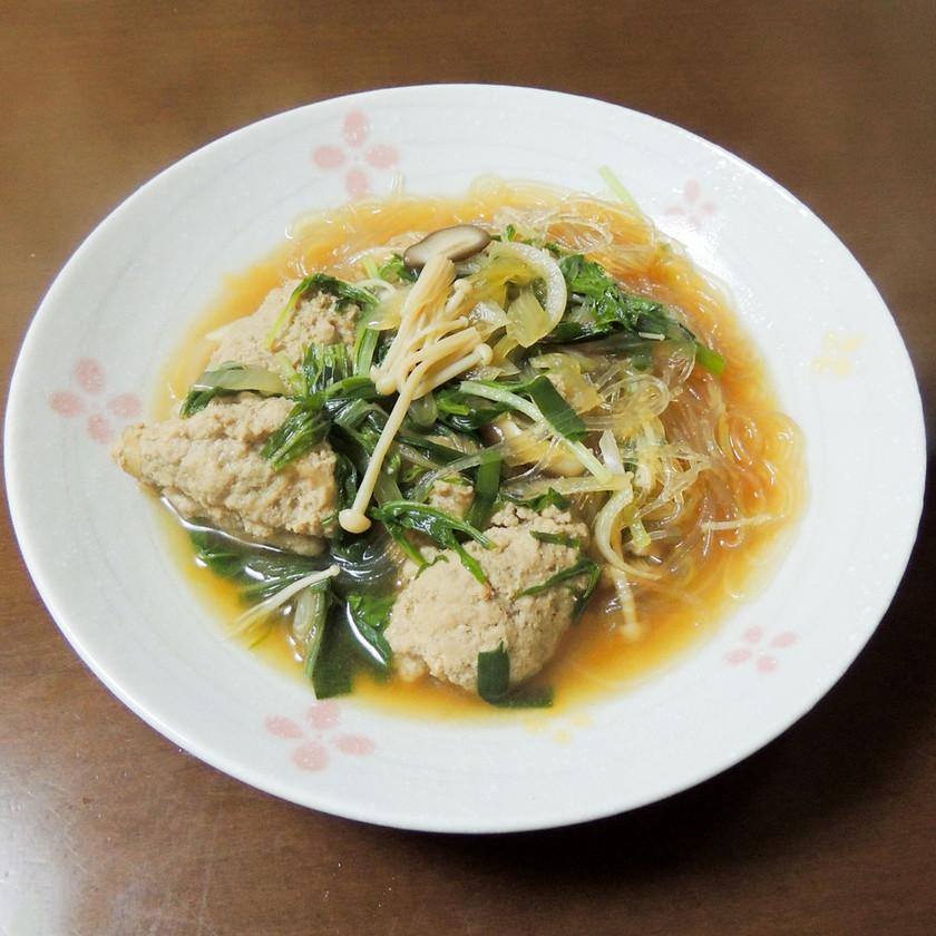 調理師さんの肉団子と春雨のスープ