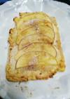 大豆粉でヘルシー アップルプラムクーヘン