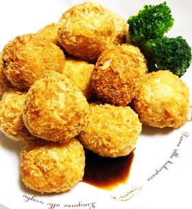 チーズとお肉のミニコロッケ(12個分)