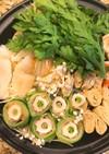 【寄せ鍋】ちくわと白菜のくるくる巻き