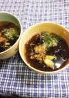 超〜簡単♪もずくの和風スープ。
