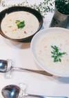 ☆アサリと白菜のとろ~り豆乳チャウダー