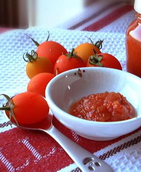 お日様トマトの手作りケチャップ