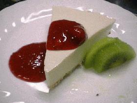 豆腐deチーズケーキ