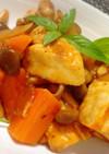 ご飯に合う!鳥肉と野菜のケチャップ炒め