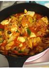 簡単 本場の韓国家庭料理の味キムチチゲ鍋