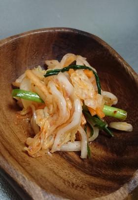 白菜の作り置き4:韓国キムチ