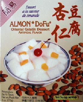 インスタント杏仁豆腐