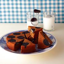 ココアビスケットのコーヒーアップサイドダウンケーキ