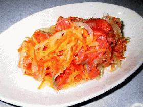 サーモンマリネサラダ