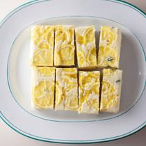 レモンとホワイトチョコのアップサイドダウンケーキ