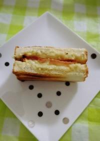 朝食やお昼に☆簡単☆ハムチーズトースト♪