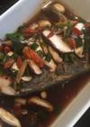 蒸し器不要 鍋と皿でぱぱっと中華風蒸し魚
