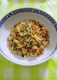 夕食に♪もやしと鶏ももニラの中華風炒り卵