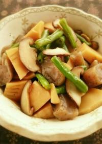 筍とこんにゃくの煮物